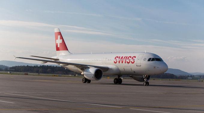 Swiss begrüsste mehr Fluggäste an Bord.
