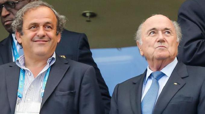 Platini fürchtet Konkurrenz Blatter.