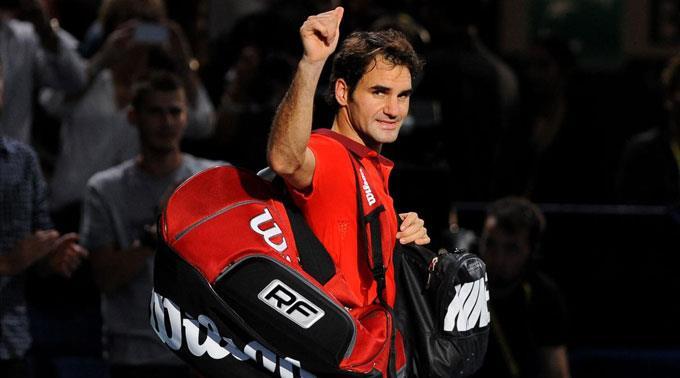 Roger Federer startet stark in die ATP-Finals. (Archivbild)