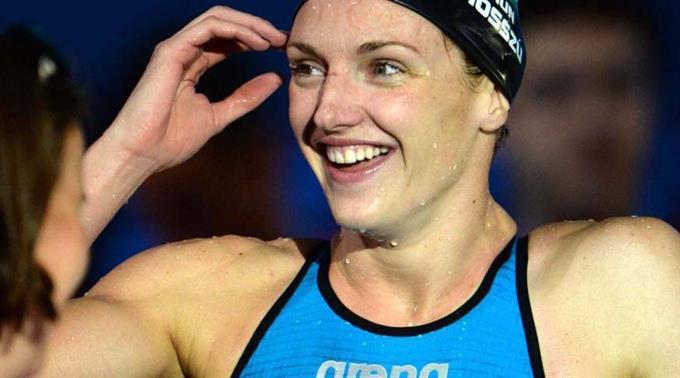 Katinka Hosszu schwamm Weltrekord. (Archivbild)