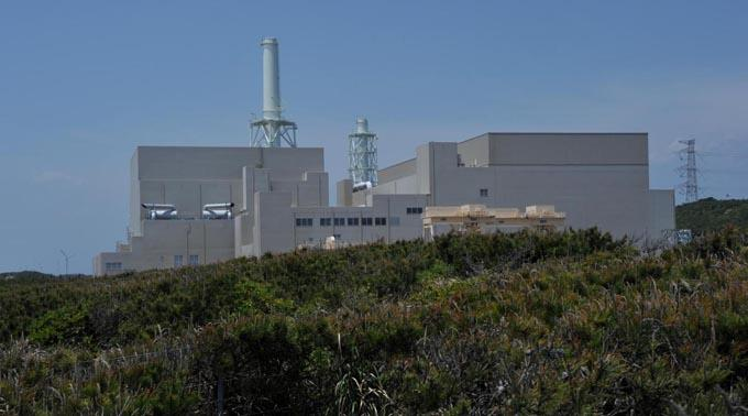 Das Atomkraftwerk in Hamaoka.