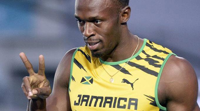 Bolt trainiert wieder.