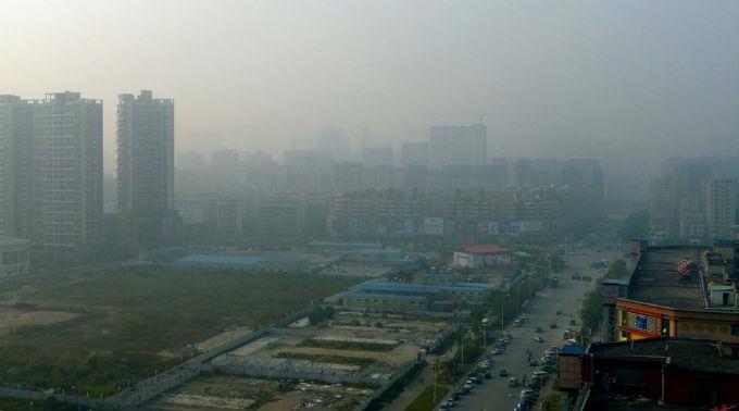 In China ist die schlechte Luft ein starkes Problem.