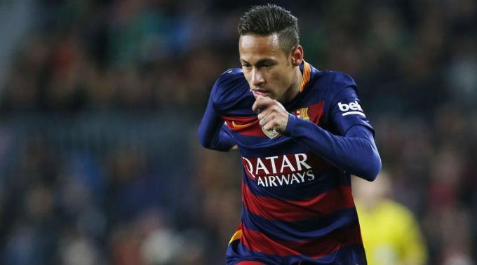 Neymar muss tief in die Tasche greifen.