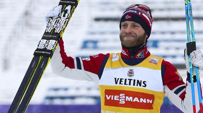 Johnsrud Sundby hat den Gesamtweltcup bei den Männern zum dritten Mal in Folge gewonnen. (Archivbild)