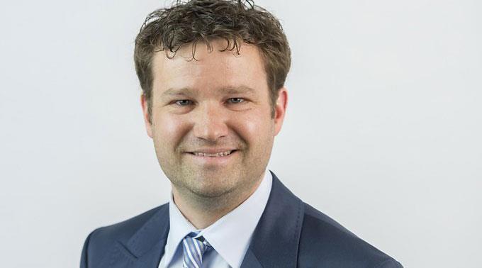 Stefan Schmid, neuer Chefredakteur des St. Galler Tagblatts.